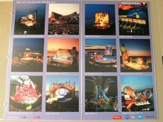 Bregenz Festival: 1989年からのこれまでの公演のようす