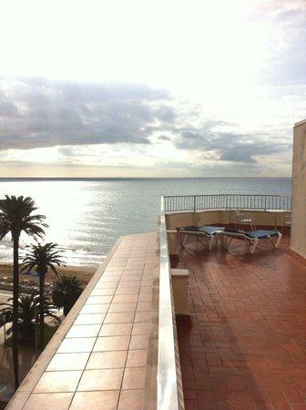 Hotel Subur: Room 502 lovely terrace!