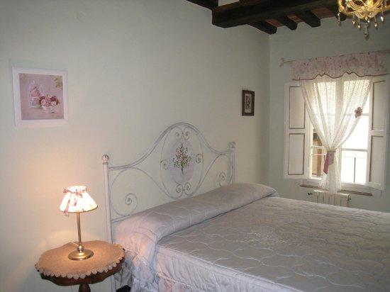 Camera matrimoniale Gino Severini Casa Ambra