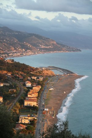 Grand Hotel San Michele : View from the top of the beach lift