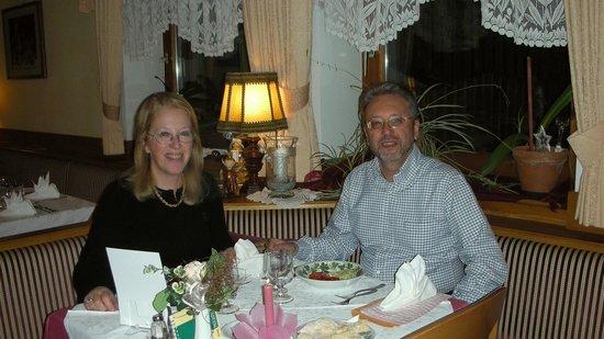 Agstner's Hotel Rainegg: Cena di qualche anno fa