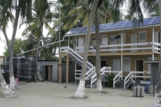 Blue Marlin Beach Resort: Two stories, 4 rooms.