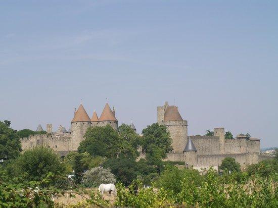 Vistas picture of le jardin de la cite carcassonne for Le jardin carcassonne