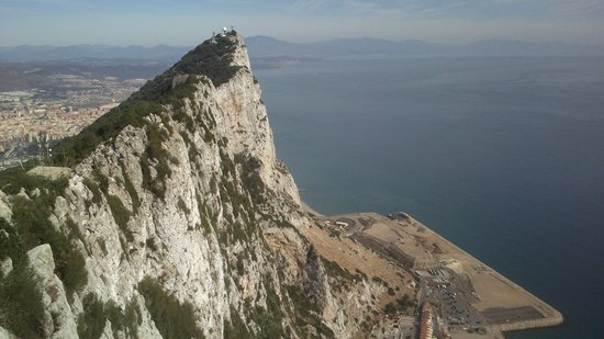 Muthu Grangefield Oasis Club: view from top of gibraltar rock