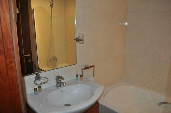 Oum Palace Hotel : Baño correcto