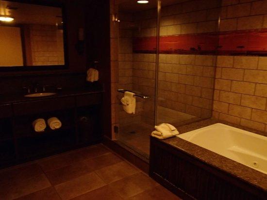Disney's Animal Kingdom Villas - Kidani Village: 2nd bathroom.