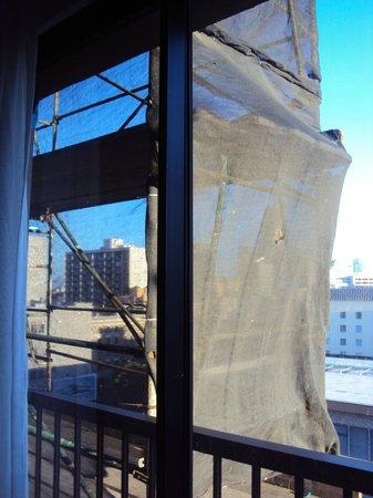 Cova Hotel: Blick aus dem Zimmer
