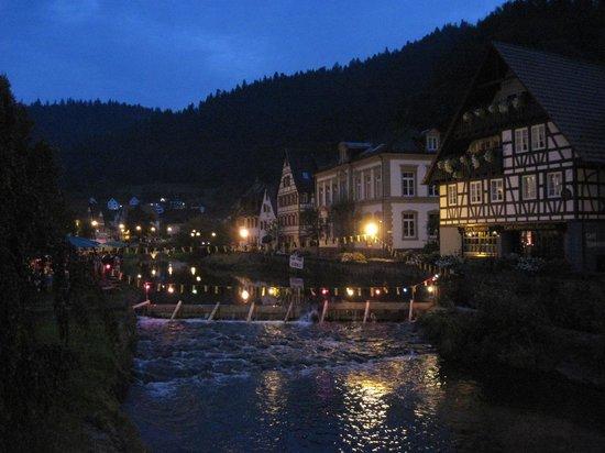 Zur Alten Brucke: Schiltach la nuit