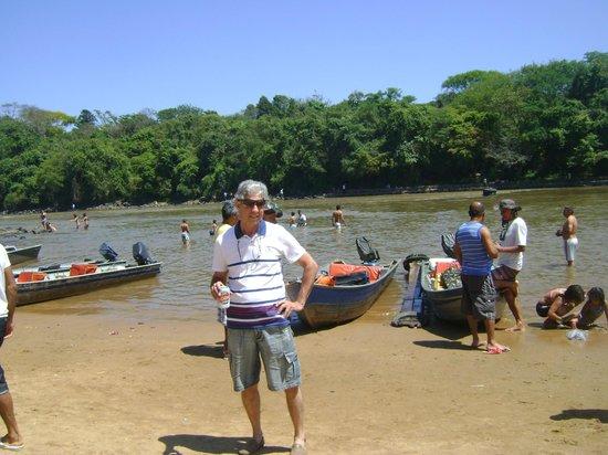 Pirassununga, SP: Passeio de barco $20,00 p/ 4 pessoas