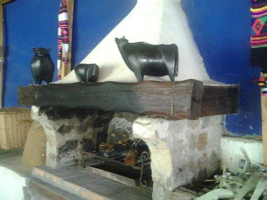 Hacienda Santa Maria: salade chimeneas