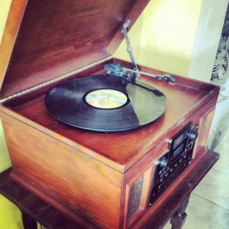 Hotel Cuna Maya: Record player