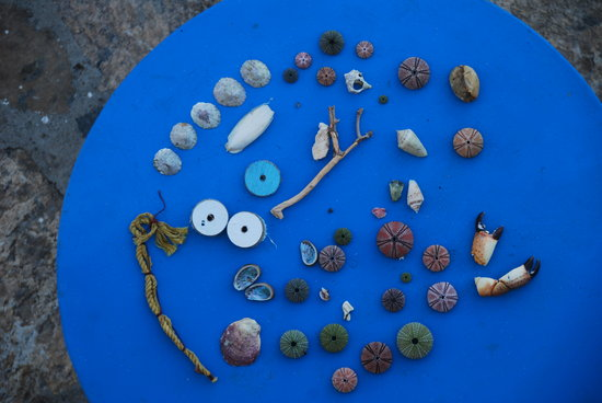 Elounda Island Villas: gevonden zeeschatten