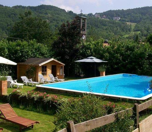 Giardino con piscina e solarium foto di albergo - Foto ville con giardino ...