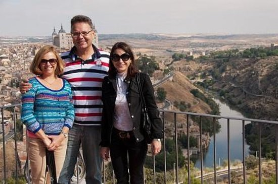 Private Madrid Museum Tours: Irina, ich und meine Frau (von rechts)