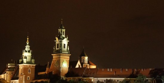 Sheraton Grand Krakow: View from the rooftop bar.