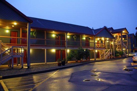 Best Western Tin Wis Resort: Zimmertrakt