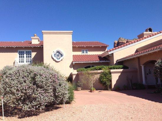 Canyon Villa Bed and Breakfast Inn of Sedona: Front entrance