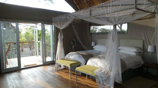 Elephant's Eye, Hwange: bedroom