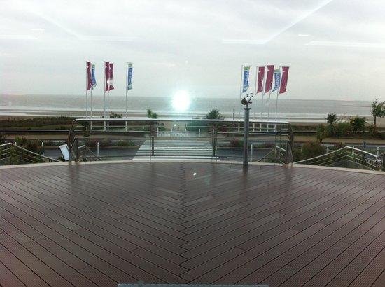 Hôtel Spa du Beryl : la terrasse