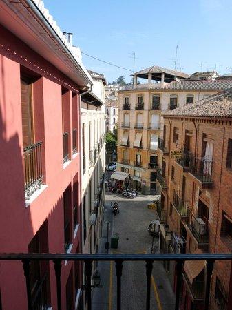 Apartamentos Medina Reyes Catolicos: vistas desde el salon