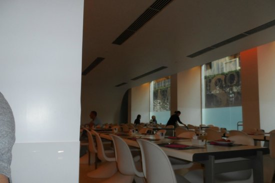 Worldhotel Ripa Roma: Parte de la zona de desayuno