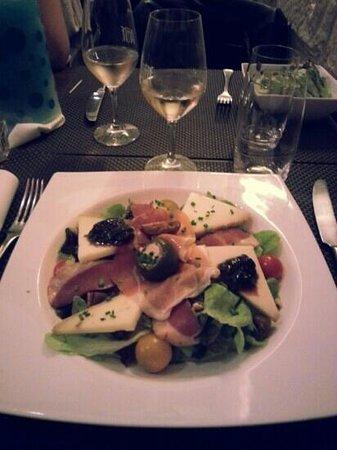 L'Affiné, le restaurant : L'assiette Basque !