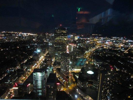 Top of the Hub : Boston after nightfall
