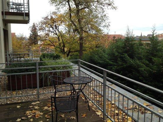 Rezidence Vysehrad: Terrace