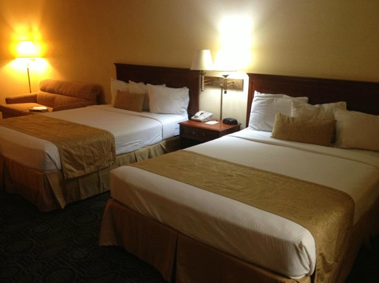 Super 8 Flagstaff : Double room, two queen beds