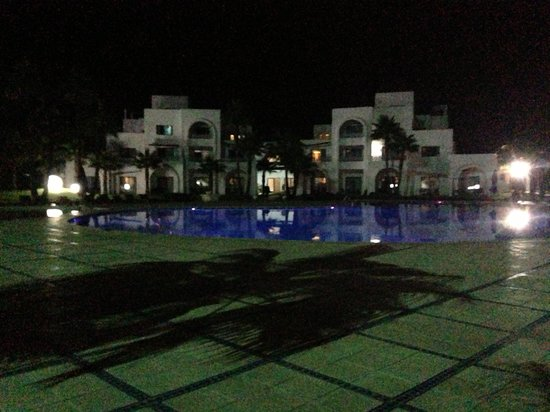 Pullman Mazagan Royal Golf & Spa: Pullman Hotel at Night
