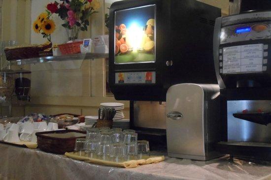 Hotel Deco : La zona del comedor