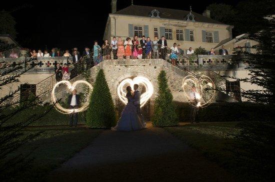 Chateau de Pramenoux : Extérieur mariage