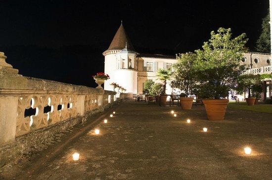 Chateau de Pramenoux : Extérieur de nuit