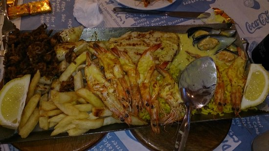 Ocean Basket: Sea Food platter for 2