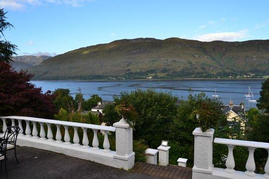 Crolinnhe: Vistas desde la terraza