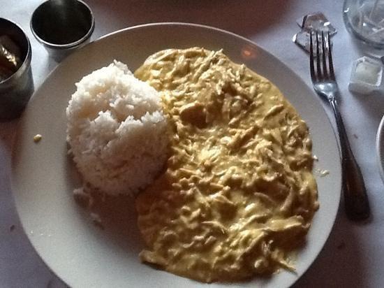 Ay Ay Picante : my yummy garlic chicken dish.