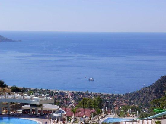 Nirvana Boutique Hotel : View of Olu Deniz Bay