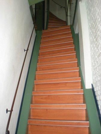 Hotel Internationaal: Escaleras