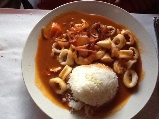 Ay Ay Picante : seafood dish
