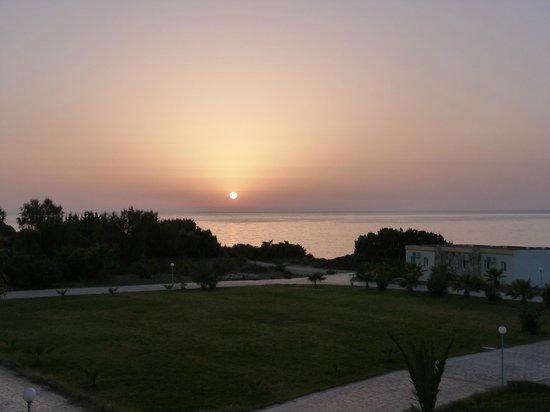 Eurovillage Achilleas Hotel : vue du balcon