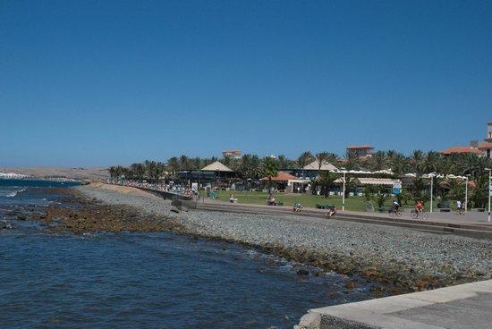Hotel Riu Palace Meloneras Resort: promenade Maspalomas