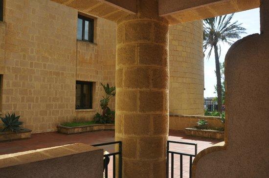 Grand Hotel Mose: Widok z tarasu pokojowego