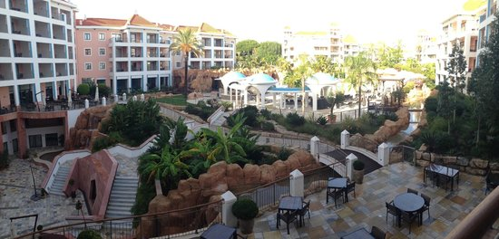 Hilton Vilamoura As Cascatas Golf Resort & Spa : View from room