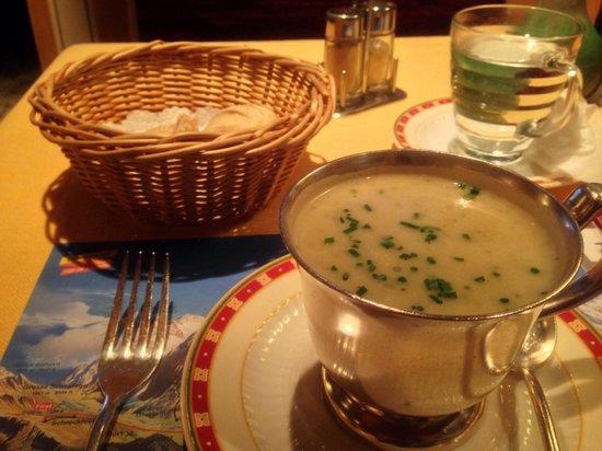 Restaurant Kreuz & Post: Best soup of the day!