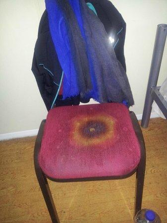 Entrée Hotel Marzahn : Chair in our room