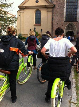 Krakow Bike Tour: 2 of the Old Dollies on Tour