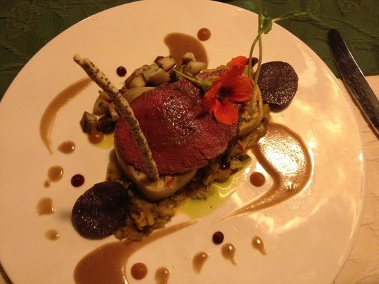 Jagdhaus Rech: Venison steak - fabulous!