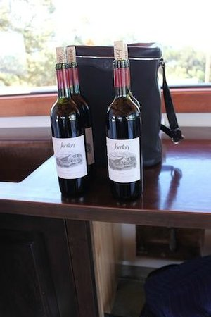 Jordan Vineyard & Winery: We were treated to pairings with a Farm to Table experience of  Jordan Wines