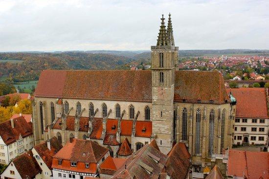 Rothenburger Rathaus: church and beyond