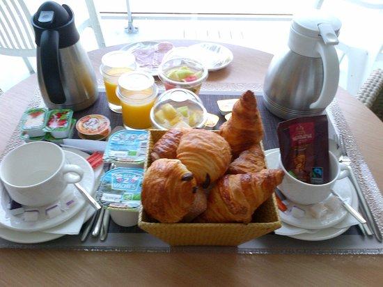 Novotel Thalassa Le Touquet: Petit-dejeuner, très frais!